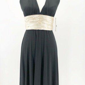 Maggy London Womens Dress Black Pearl Halter Tie 6